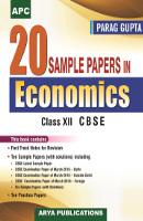 20 Sample Papers in Economics Class XII
