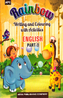 Rainbow Writing and Colouring with Activities ENGLISH Part - B