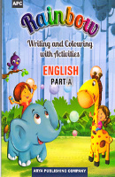 Rainbow Writing and Colouring with Activities ENGLISH Part - A