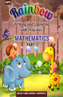 Rainbow Writing and Colouring with Activities MATHEMATICS Part - B