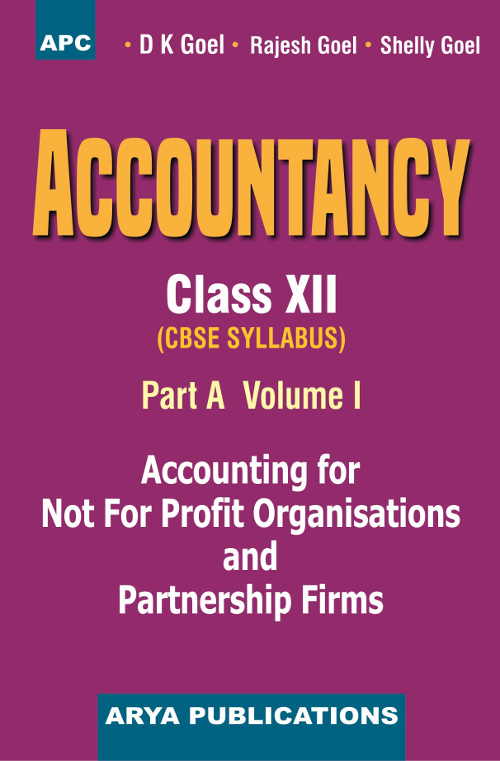 PDF of the first chapter of Accountancy (Part-A) Vol-I, Class- XII