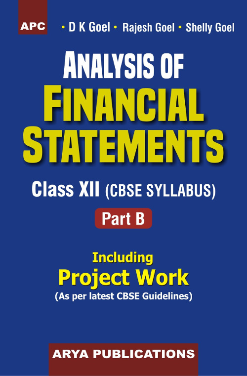 PDF of the first chapter of Analysis of Financial Statements