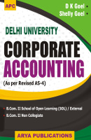 Corporate Accounting B.Com. II (School of Learning (SOL) / External and Non Collegiate) (Delhi University)