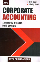 Corporate Accounting B.Com Sem IV, Delhi University