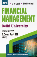 Financial Management B.Com. III Semester V,  CBCS (Delhi University)