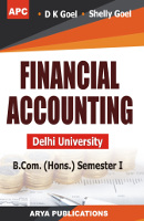 Financial Accounting (Delhi University) B.Com. (Hons.) Semester I (External/Correspondence)