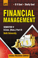 Financial Management B.Com. (Hons.) III Semester V