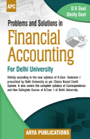 Problems and Solution in Financial Accounting B.Com I (B.Com. I of Delhi University)