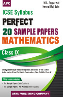ICSE Perfect 20 Sample Papers Mathematics-IX