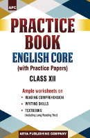 Practice Book English Core (With Practice Papers) Class XII