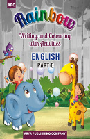 Rainbow Writing and Colouring with Activities ENGLISH Part-C