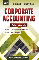 Corporate Accounting B.Com. II (Correspondence and Non-Collegiate)