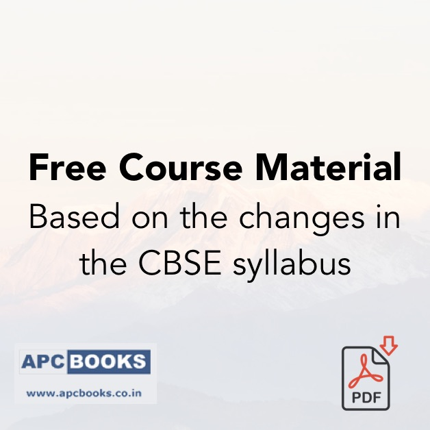 CBSE recently announced changes in Class XII Accountancy syllabus